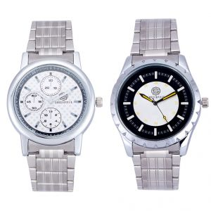 Shostopper Vintage Collection Combo Watches For Mens (product Code - Sj171wcb)