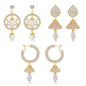 Jewellery combos - Shostopper Vintage Collection Combo Pack Of Three - SJ131CB
