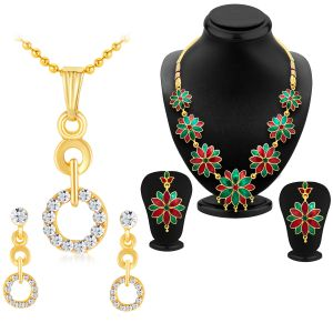 Jewellery combos - Shostopper Vintage Collection Combo Pack Of Two SJ208CB