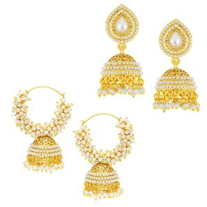 Shostopper Vintage Collection Combo Of Earrings Sj243cb