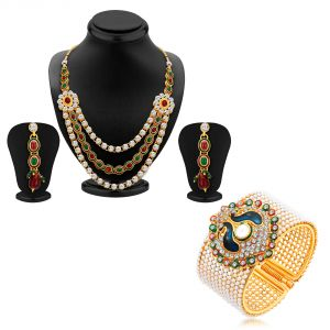 Jewellery combos - Shostopper Vintage Collection Combo Pack Of Two SJ252CB
