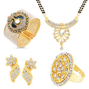 Jewellery combos - Shostopper Vintage Collection Combo Pack Of Four  (Code - SJ267CB950)