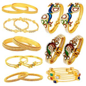 Shostopper Combo Of Trendy Traditional Bangles Set For Women Pack Of 18 (code - Sj270cb2600_ )