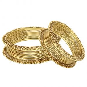 Shostopper Traditional Combo Pack Of Twenty Bangle Set ( Code - Sj307cb450 )