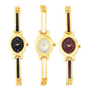 Women's Watches   Analog - Shostopper Vintage Collection Combo Watches for Womens ( Code - SJ309WCB900 )