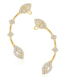 Shostopper Marvellous Gold Plated Australian Diamond Earcuff