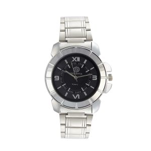 Shostopper Premium Black Dial Analogue Watch For Men - Sj60059wm