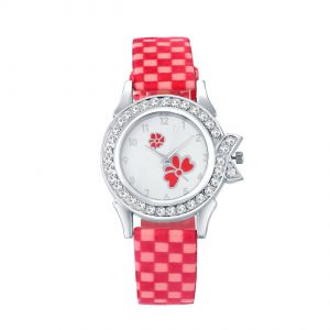 Shostopper Checks White Dial Analogue Watch For Women ( Code - Sj62077wwv350 )