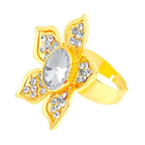 Shostopper Cluster Designer Gold Plated Ring Sj8005r