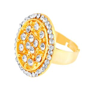 Shostopper Royal Designer Gold Plated Ring Sj8006r