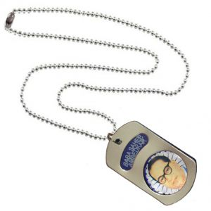 Men Style Dr. Babasaheb Ambedkar Blue Stainless Steel Square Pendant For Men And Boys (product Code - Spn09103)