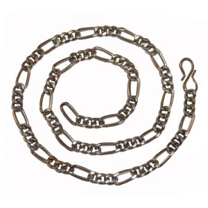 Men Style Sachin Inspired Silver Fashion Alloy Chain