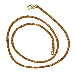Men Style Classic Design Gold Alloy Rope Chain