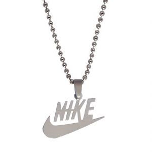 Men Style Silver Nike Inspired Pendent