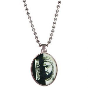 Men Style Chhatrapati Janata Raja Shivaji Maharaj Black Pendent For Men Spn04016