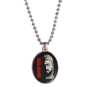 Men Style Janata Raja Shivaji Multicolor Alloy Oval Pendent For Men Spn05032