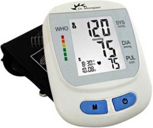 Dr. Morepen Health Care Appliances - Dr. Morepen Bp 09 Automatic Blood Pressure Monitor