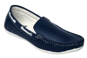Molessi Mens Blue Loafer Shoes - ( Code - Ml16lb602 )