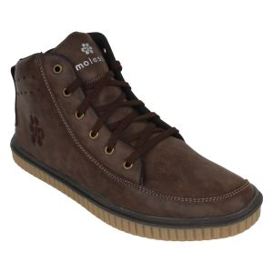 Molessi Mens Pulse Ankle Casual Shoe - Brown - ( Code - Ml15ac025s_p )
