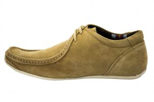 Casual Shoes (Men's) - Molessi Suede Leather Light Brown Italiano Shoe-(Code-ML15C431S6_P)