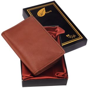 Arum Brown Card Holder