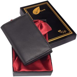 Arum Black Card Holder