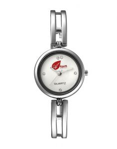 Arum Silver Star Round Ladies Watch