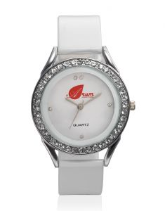 Arum Analog White Dial Women