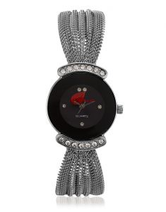 Arum Black Catena Watch Aw-019