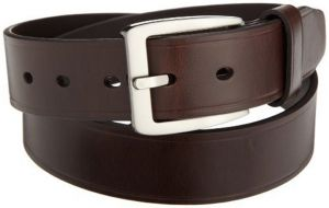Pe Mens Genuine Leather Brown Waist Belt - (product Code - Bl100br_plain)