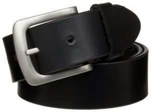 Pe Mens Genuine Leather Black Waist Belt - (product Code - Bl101bl_nova)