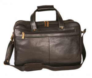 Pe 16 Inch 100% Genuine Leather Laptop Messenger Bag