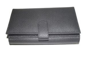 Pe Womens Fashionable Black Pu Leather Wallet - (product Code - Lw504_bl)
