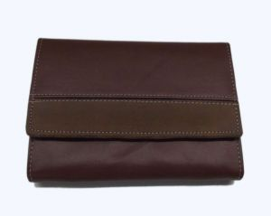 Pe Womens Artificial Brown Pu Leather Wallet