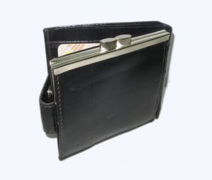 Pe Womens Black Leather Wallet - (product Code - Lw508_bl)