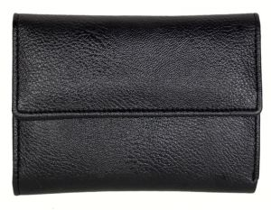 Pe Womens Fashionable Black Pu Leather Wallet - (product Code - Lw514_bl)