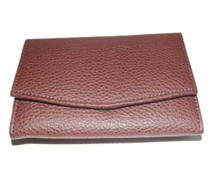 Pe Womens Fashionable Brown Pu Leather Wallet