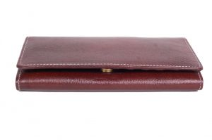 Pooja Exports Genuine Leather Ladies Wallet Lw102_br