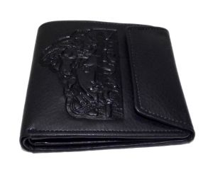 Pe Mens New Stylist Black Pu Leather Wallet