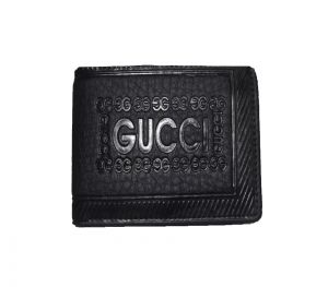Pe Mens Artificial Black Pu Leather Wallet