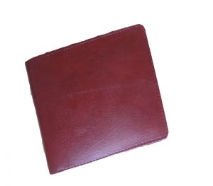 Pe Mens Burgundy Leather Wallet
