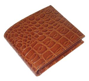 Pe Mens Tan Leather Wallet