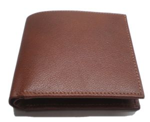 Pe Mens Pure Light Brown Leather Wallet