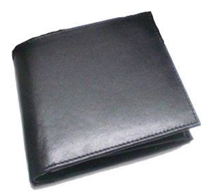 Pe Mens Black Leather Wallet - (product Code - Mw303_bl)