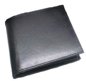 Pe Mens Black Leather Wallet - (product Code - Mw304_bl)
