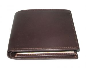 Pe Mens Genuin Brown Leather Wallet