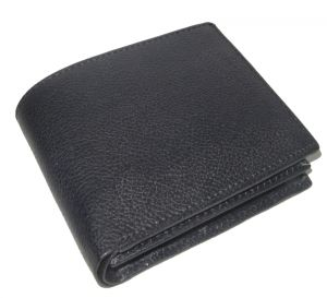 Pe Mens New Black Pd Leather Wallet