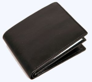 Pe Mens New Black Sheep Leather Wallet