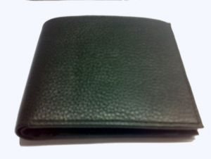 Pe Mens Genuine Black Leater Wallet