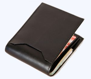 Pe Mens Black Leather Wallet - (product Code - Mw310_bl)